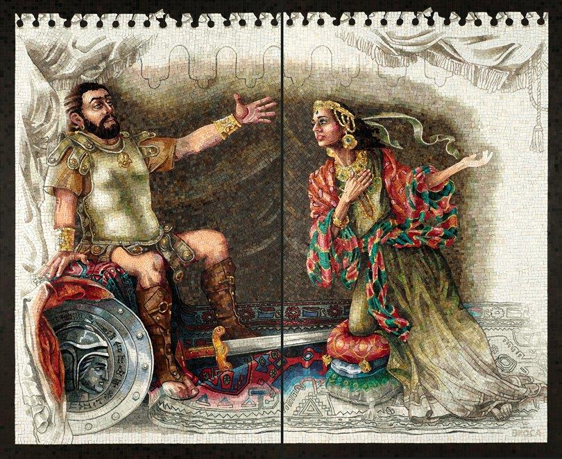 3 Judith Meeting Holofermes diptych email