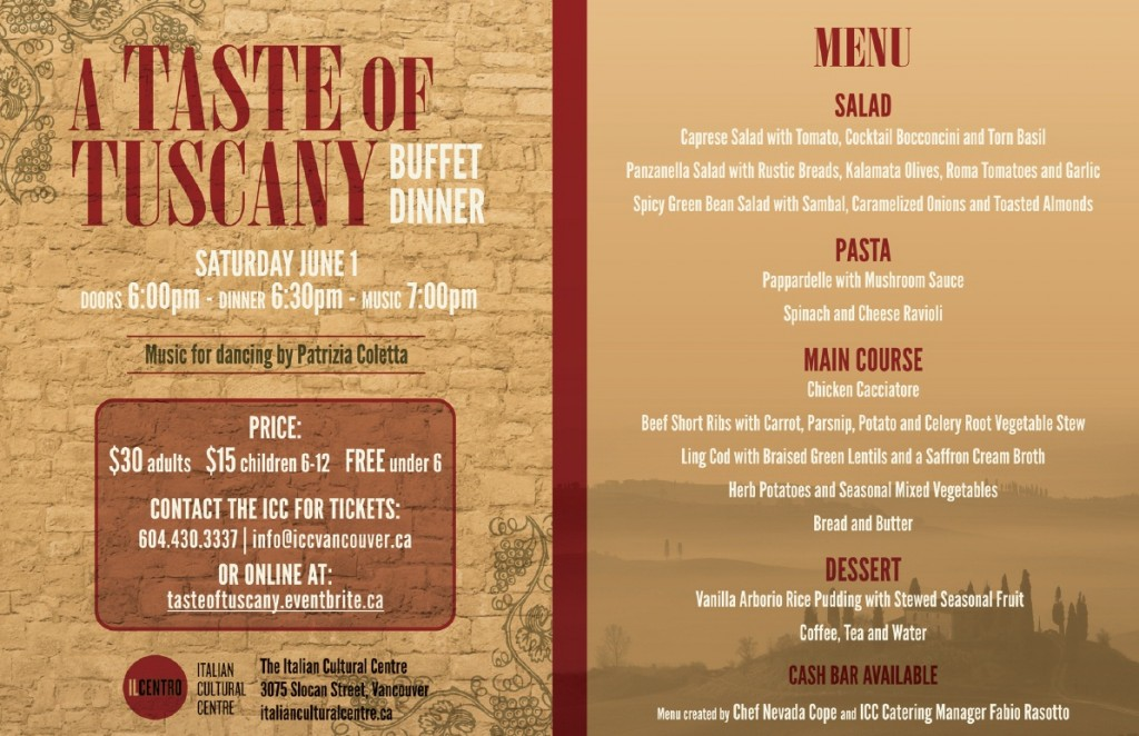 Taste of Tuscany Poster R-PS