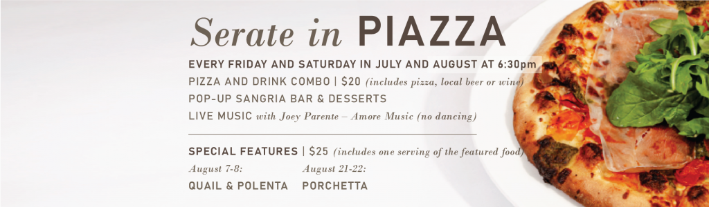 Serate in Piazza Banner
